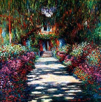 Monet: Weg im Garten